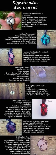 Significado das pedras                                                                                                                                                                                 Mais Wiccan, Witchcraft, Diva Nails, Book Of Shadows, Stones And Crystals, Feng Shui, Crystal Healing, Reiki, Diy And Crafts