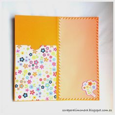 Postales para regalar dinero #scrapbooking #card #simplestories #diy