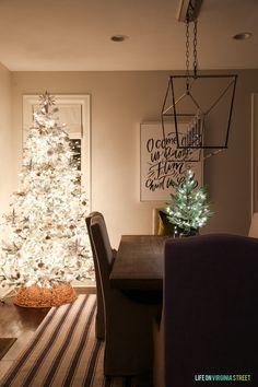 Christmas Nights Home Tour - Life On Virginia Street #christmasnightstour #christmasdecor