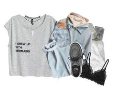 """I'll never run away from you"" by corruptedcolours ❤ liked on Polyvore featuring H&M, Cosabella, Underground and Wet Seal"
