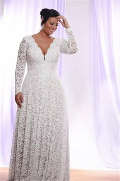 Wholesale pink wedding gowns, shopping online for dresses and simple gowns on DHgate.com are fashion and cheap. The well-made cheap full lace plus size wedding dresses with removable long sleeves v neck bridal gowns floor length a line wedding gown sold by huifangzou is waiting for your attention.