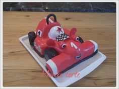 Roary racing car - Cake by Mihic Monika