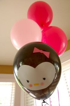 penguin balloon - Please to be getting for my birthday