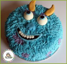 Check Out Sully From Monsters Inc. Made Especially For A Very Cool Young Man Xavier, For His 3rd Birthday! Happy Birthday Little Man!♥