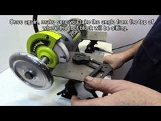 The Acute Tool Sharpening System #10 - Sharpening a two flute end mill. - YouTube