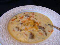 Crock Pot - Sausage Potato Soup.