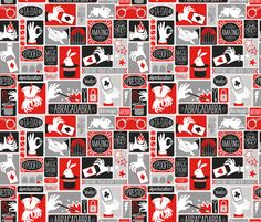 Magic Show fabric by k80horn on Spoonflower - custom fabric  NUMBER 3
