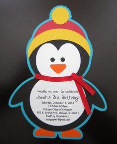 Penguin Invitation