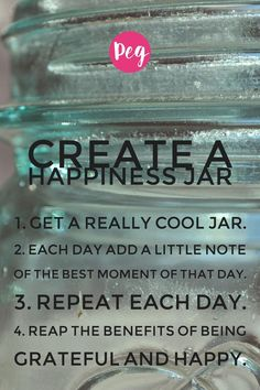 Wonderful idea 💡 happy jar I love it🌸💟 Gratitude Jar, Happy Jar, Reap The Benefits, Magazine Crafts, Baby Fat, Make Pictures, Men Quotes, S Word, Beauty Quotes