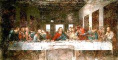The Last Supper  1498 (180 Kb); Fresco, 460 x 880 cm (15 x 29 ft); Convent of Santa Maria delle Grazie (Refectory), Milan