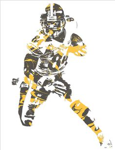 Antonio Brown PITTSBURGH STEELERS PIXEL ART 15 Art Print by Joe Hamilton. All prints are professionally printed, packaged, and shipped within 3 - 4 business days. Saints Football, Football Art, Football Players, Pittsburgh Steelers, Joe Hamilton, Lamar Jackson, Antonio Brown, Thing 1, Steeler Nation