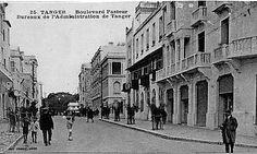 Tánger Bulevar Pasteur.طنجة شارع باستور المغرب