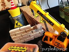Construction Party Cakes, Construction Cookies, Construction Birthday Parties, 3rd Birthday Cakes, Birthday Party For Teens, Baby Birthday, Birthday Party Themes, Ideas, Dump Truck Party