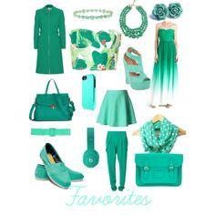 Green & favorites