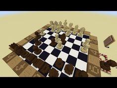 Chess Board in Minecraft