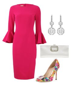 """""""Untitled #678"""" by lovelifesdreams on Polyvore featuring Michael Kors, Manolo Blahnik and Roger Vivier"""
