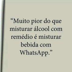 Alcool e whatsapp