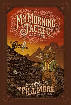 My Morning Jacket - Wax Fang- The Fillmore, San Francisco, CA by Marq Spusta