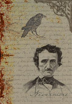 When you think of ravens, don't you automatically think of Edgar Allen Poe?