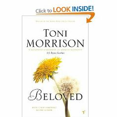 Beloved by Toni Morrison. I almost feel ashamed to say I haven't read any Toni Morrison. Great Books To Read, I Love Books, Good Books, Beloved Toni Morrison, African American Authors, American Women, I Love Reading, Book Authors, Fiction Books