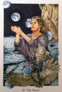 Meeting the Sprits with Tarot: A Lowerworld Journey Layout