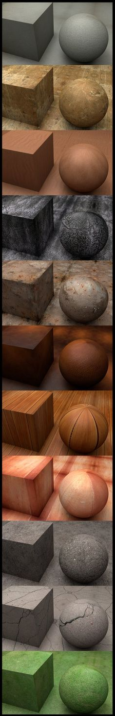 Materials by ~SMOKEYoriginalHD on deviantART