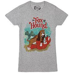 Disney The Fox and The Hound Title Logo Juniors Shirt (Me... http://www.amazon.com/dp/B014TB45UG/ref=cm_sw_r_pi_dp_g.yixb0P02B59