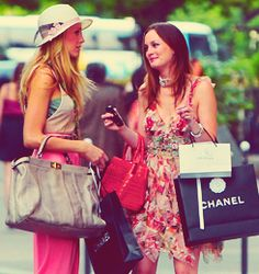 shopping with your best friend