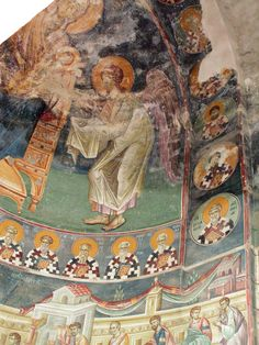 24 Byzantine Icons, Byzantine Art, Tempera, Fresco, Order Of Angels, Church Icon, Mural Painting, Ikon, Projects To Try