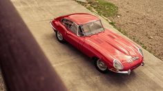 1963 Jaguar E-Type.