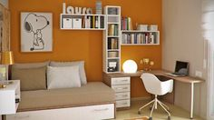 A teenager considers the bedroom as a study area, work area, entertainment area, music room and many many more. That is why, most teen bedrooms would conta