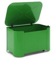 Tolix Kids Tortoise Toy Box on Wheels
