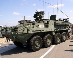 El Stryker ICV es un vehículo blindado de transporte de personal diseñado por los ingenieros de General Dynamics Land Systems, encontrándose actualmente en servicio por el Ejército de los Estados Unidos. Desde que comenzó su producción en 2002, se han fabricado un total de ocho variantes con mejoras continuas con el paso de los años.