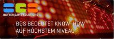 """BGS steht für """"Better Game Solutions"""" und ist der Solution Provider für Sportwetten innerhalb der Unternehmensgruppe Casinos Austria / Österreichische Lotterien. BGS bietet Spiel- und Wettanbietern, aber auch anderen Unternehmen, die ins Sportwettengeschäft einsteigen wollen, moderne, ausfallsichere Systeme sowie umfassende Beratungsleistungen für Konzeption, Marketing und Abwicklung von Spielen und Wetten an. Neon Signs, Marketing, Sports Betting, Landing Pages, Playing Games, Things To Do"""