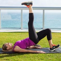 Lift your buns, tone your thighs, strengthen your back, and sculpt your abs