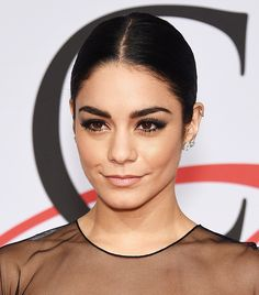 Vanessa Hudgens's slicked ponytail