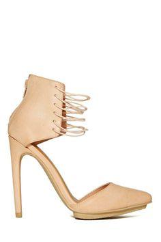 Shoe Cult Torrid Heel - Nude