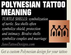 turtle shells polynesian symbol meaning - junotattoodesigns