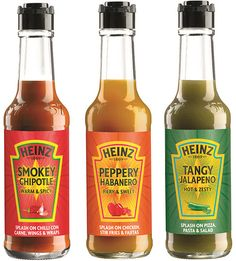 Heinz Hot Sauces. Heinz??? They should probably stick to ketchup.