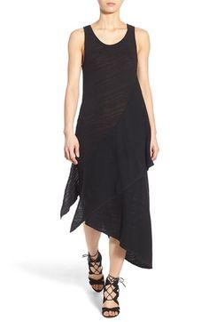Fine by Superfine 'Daze' Asymmetrical Slub Cotton Tank Dress