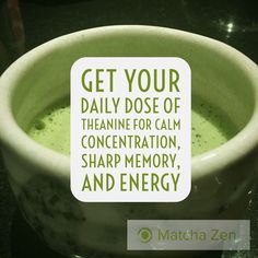 One of the benefits of drinking matcha is theanine which is an amino acid which helps keep you calm and focused. Matcha Tea Health Benefits, How To Calm Nerves, Organic Matcha, True Health, Japanese Sweets, Amino Acids, Allergies, Tea Time, Drinking