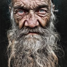 Portraits of homeless people by Lee Jeffries