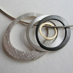 Pools Necklace | Contemporary Necklaces / Pendants by contemporary jewellery designer Dot Sim