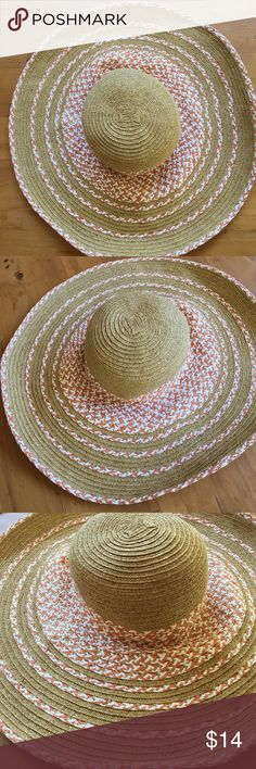 Apt 9 Hat Like new excellent condition wonderful protection from sun and looking cute 💕💕 Apt. 9 Accessories Hats
