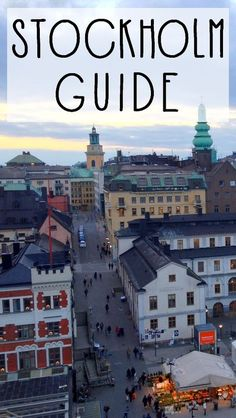Here is everything you need to know to get ready for your very own Stockholm trip!