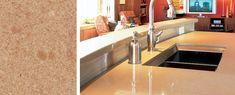 Countertops: Coral Troya | More kitchen remodeling ideas here: http://kitchendesigncolumbusohio.com/kitchen-ideas.html
