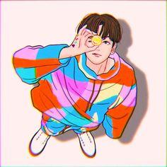 Exo Anime, Anime Art, Exo Cartoon, Baekhyun Fanart, Exo Stickers, Exo Fan Art, Chibi, Disney Characters, Fictional Characters