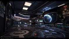 ArtStation - The Seventh Room - SciFi Project, Matias Toloza (IsolatedNerdCG)