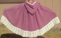 Baby Girls Cape pattern by Life's Creations available as a FREE Ravelry download pattern!  Thanks to Life's Creations