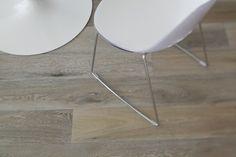 Wide plank smoked Oak floors with Rubio Monocoat